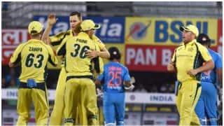 गुवाहाटी टी20-कंगारू गेंदबाजों के आगे टीम इंडिया पस्त, बनाए सिर्फ 118 रन