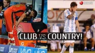 Messi & Kohli: Perfect example of Country vs Club debate