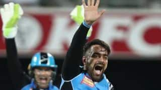 Big Bash League 2018-19: Rashid Khan makes impressive start in defending champions Adelaide Strikers' victory