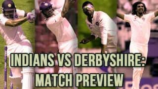 Indians vs Derbyshire Preview: Golden opportunity for bowlers to shine