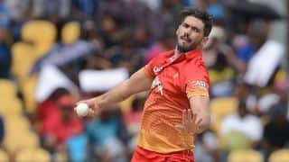 Recovering Graeme Cremer out of Zimbabwe's South Africa, Bangladesh tours