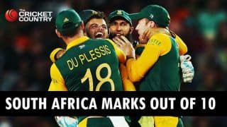 South Africa marks out of 10 in ICC Cricket World Cup 2015