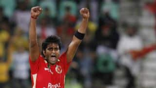 IPL 7 Auction: R Vinay Kumar sold to Kolkata Knight Riders for Rs 2.80 crore
