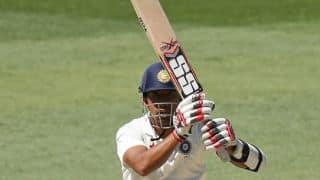 Wriddhiman Saha misses moment of glory