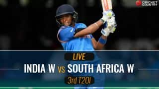 Live Cricket Score, India Women vs South Africa Women, 3rd T20I: SA win
