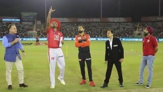 IPL 2019, KXIP vs RCB: Kohli wins toss, RCB elect to field, Umesh replaces Southee