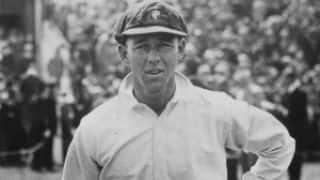 Archie Jackson eclipses Don Bradman on Test debut