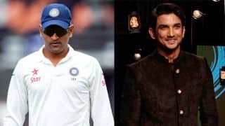 MS Dhoni biopic: Sushant Singh Rajput teases Indian captain over their upcoming film