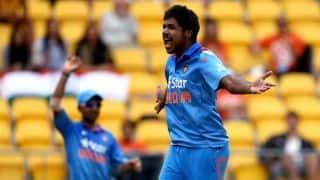 India vs Sri Lanka 1st ODI at Cuttack : Varun Aaron bowls 152kph delivery