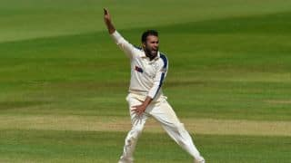 Rashid cites family illness on missing County Championship final