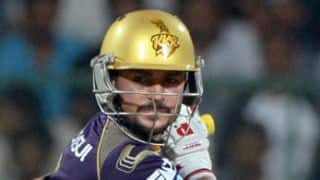 Manish Pandey loves playing in crunch matches