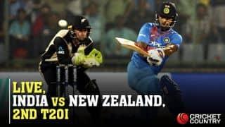 Highlights, IND vs NZ , 2nd T20I: NZ win by 40 runs, series locked 1-1