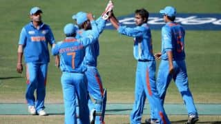 India post 291/7 against Sri Lanka in Under-19 World Cup 5th place playoff