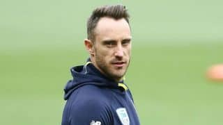 Skipper Faf du Plessis expects more consistency from South Africa