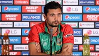 Bangladesh vs England: Mashrafe Mortaza expects to recover before series
