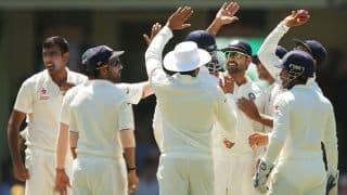 दूसरे टेस्ट की पहली पारी में भारत ने बनाया 622/9 का विशाल स्कोर
