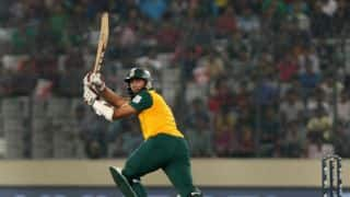 South Africa vs West Indies 2014-15, 2nd ODI at Johannesburg: South Africa 101 for no loss after 20 overs