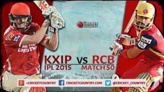 Kings XI Punjab vs Royal Challenges Bangalore, IPL 2015 Match 50 at Mohali Preview: RCB target playoffs against woeful KXIP