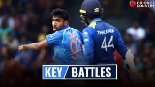 India vs Sri Lanka, 1st ODI, Dharamsala: Rohit Sharma vs No. 1 challenge, Jasprit Bumrah vs Upul Tharanga and other key battles