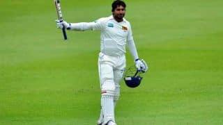 Kumar Sangakkara becomes 4th player to score 400 runs in a Test match