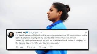 Today, my patriotism doubted, my skill set questioned –  it's the darkest day of my life: Mithali Raj
