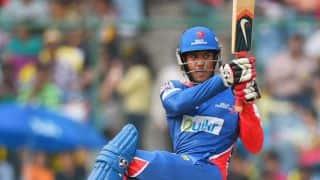 Mayank Agarwal scores half-century in Kings XI Punjab vs Delhi Daredevils IPL 2015 Match 10