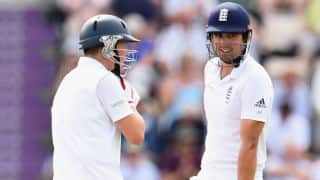 India tour of England 2014: Alastair Cook helps Gary get his 'Ballance' right after pub fiasco