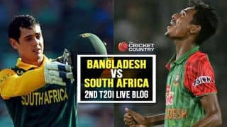 Live Cricket Score, Bangladesh vs South Africa 2015, 2nd T20I at Dhaka, BAN 138 in 19.2 Overs: SA win by 31 runs, claim series 2-0