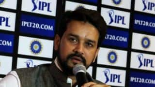 No name bigger than cricket, says Anurag Thakur
