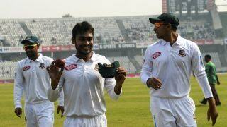 Mehidy Hasan Miraz claims best match figures by a Bangladesh bowler in a Test