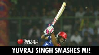 Yuvraj fifty helps DD recover from poor start to post respectable 152
