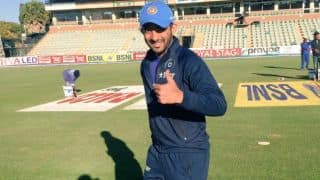 Faiz Fazal to make ODI debut for India vs Zimbabwe at Harare; gets cap from MS Dhoni