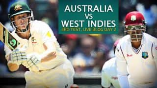 WI 248/7 | Live Cricket Score, Australia vs West Indies 2015-16, 3rd Test at Sydney, Day 2: Stumps