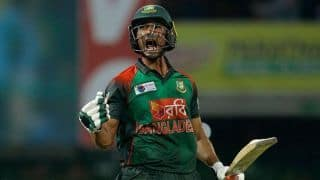 Mahmudullah fifty carries Bangladesh to 175 against Zimbabwe