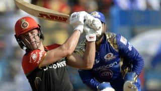 IPL 2017: RCB set 163-run target for MI, in IPL 10 match 38