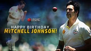 Happy Birthday, Mitchell Johnson: Australian pacer turns 34