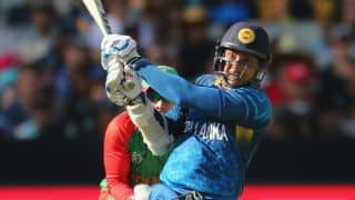 Sri Lanka thrash Bangladesh by 92 runs in ICC Cricket World Cup 2015 Pool A Match 18 at Melbourne