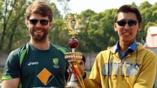 Matthew Elliott, Paras Khadka to feature in 63-over Phillip Hughes Memorial match