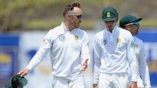 2-0 से टेस्ट सीरीज हारने के बाद फाफ डु प्लेसिस ने मानी अपनी गलती