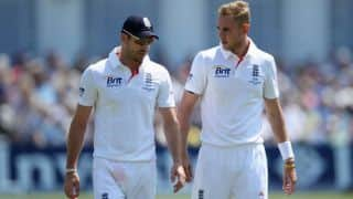 India tour of England 2014: James Anderson, Stuart Broad pose threat to visitors in 1st Test at Trent Bridge