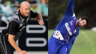 New Zealand include Somerville, Rance in ODI squad to face Australia