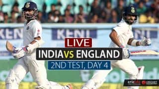 LIVE Cricket Score, India vs England 2nd Test, Day 4 at Visakhapatnam: Hosts need 8 wickets to win