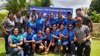 हेमलता, पूनम यादव के शानदार प्रदर्शन से इंडिया ब्लू ने टी20 चैलेंजर्स ट्रॉफी जीती