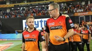 Kane Williamson fit for selection, confirms SRH coach Tom Moody