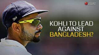 Virat Kohli to lead India vs Bangladesh; MS Dhoni to be rested for ODIs