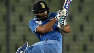 Rohit Sharma scores half-century against West Indies in ICC World T20 2016 warm-up tie