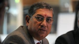 N Srinivasan declines to comment on BCCI's actions against WICB