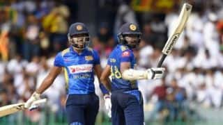5th ODI: Niroshan Dickwella, Dinesh Chandimal lead Sri Lanka to 366/6