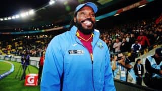 Chris Gayle gets to 1000 runs in 2015; first to do so for fifth consecutive year