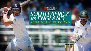 ENG 159/6| Live Cricket Score, South Africa vs England 2015-16, 2nd Test, Day 5 at Cape Town: Match Called off England lead series 1-0